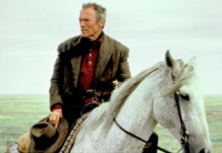 """Unforgiven"" renders Clint Eastwood a surprisingly ineffectual part of the dramatic structure as a means of deglamorizing the gunslinger archetype."