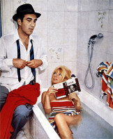 "In his French New Wave classic ""Contempt,"" Jean-Luc Godard made a movie about a frustrated international filmmaker contending with brutish American producers as he dealt with a brutish American filmmaker."